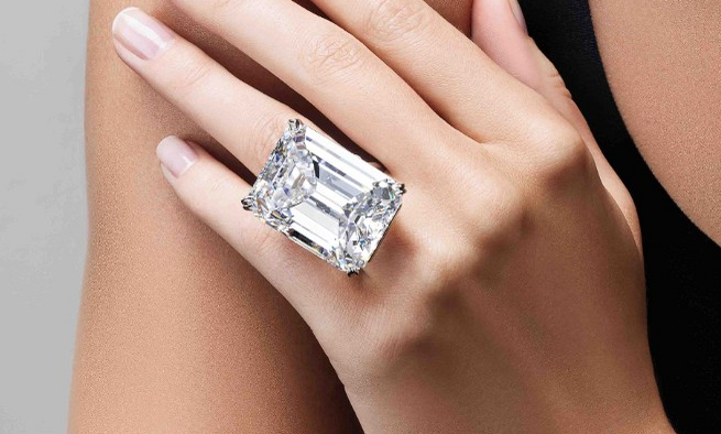 100.20 Carat IF D Color Diamond, up for auction at Sotheby's