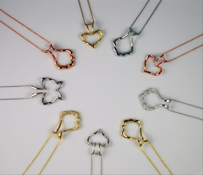 Various Styles of Emily C Ring Holders