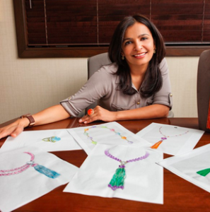Designer and Owner of Goshwara, Sweta Jain.