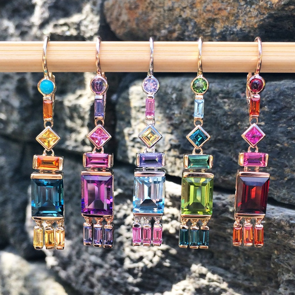 Jane Taylor Cirque earrings