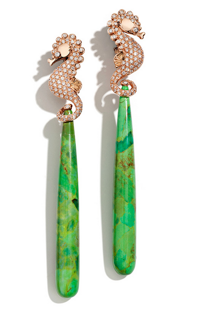 Incredible Earrings from Luxeintelligence client Massimo Izzo