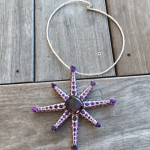"Amethyst ""Star of Arizona"" Pendant by Kurt Cavano"