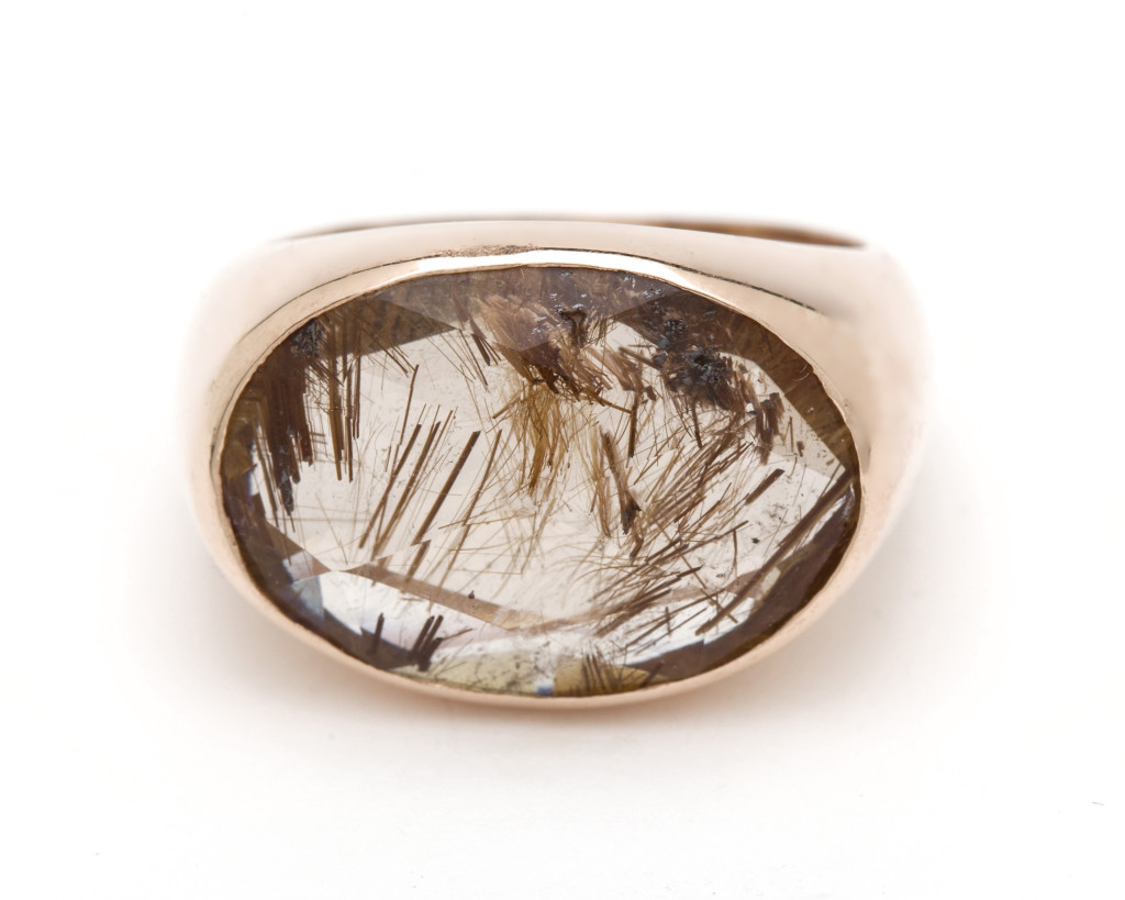 Arik-Kastan_rose_gold_Brown_rutilated_quartz_ring_gem_therapist