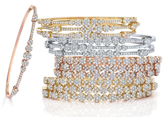 Diamond-Bracelet-cellini-Jewelers-Bangle 18k-14k-yellow-gold-white-gold-rose-gold-gem-therapist